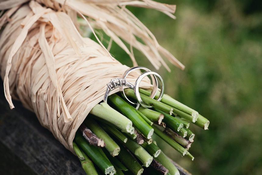 rings on flower stems