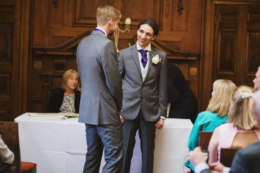 groom with best man