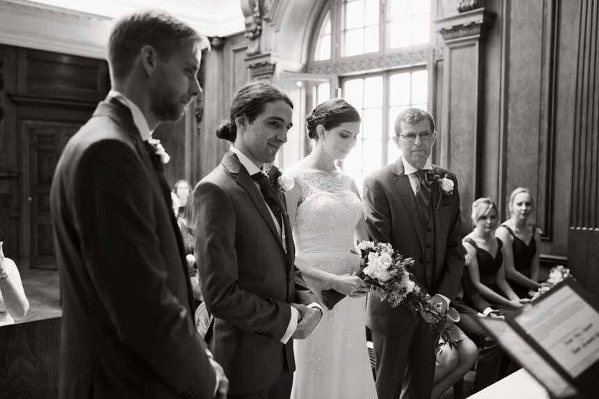 beginning of ceremony