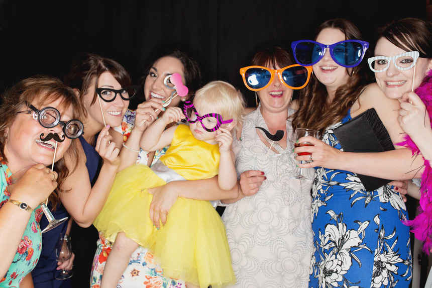 Guests in Photo Booth