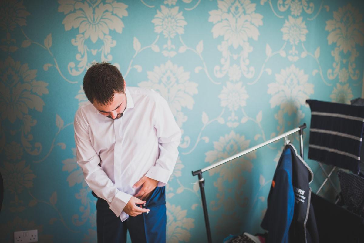 groom dressing