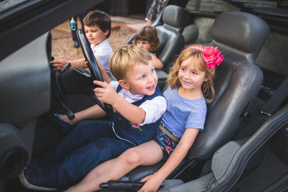 kids in a Delorean
